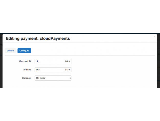 Метод оплаты CloudPayments для CS-Cart